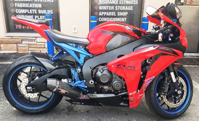 2008 Honda CBR 1000 for Sale at Biker's Outfitter Boston Ma.