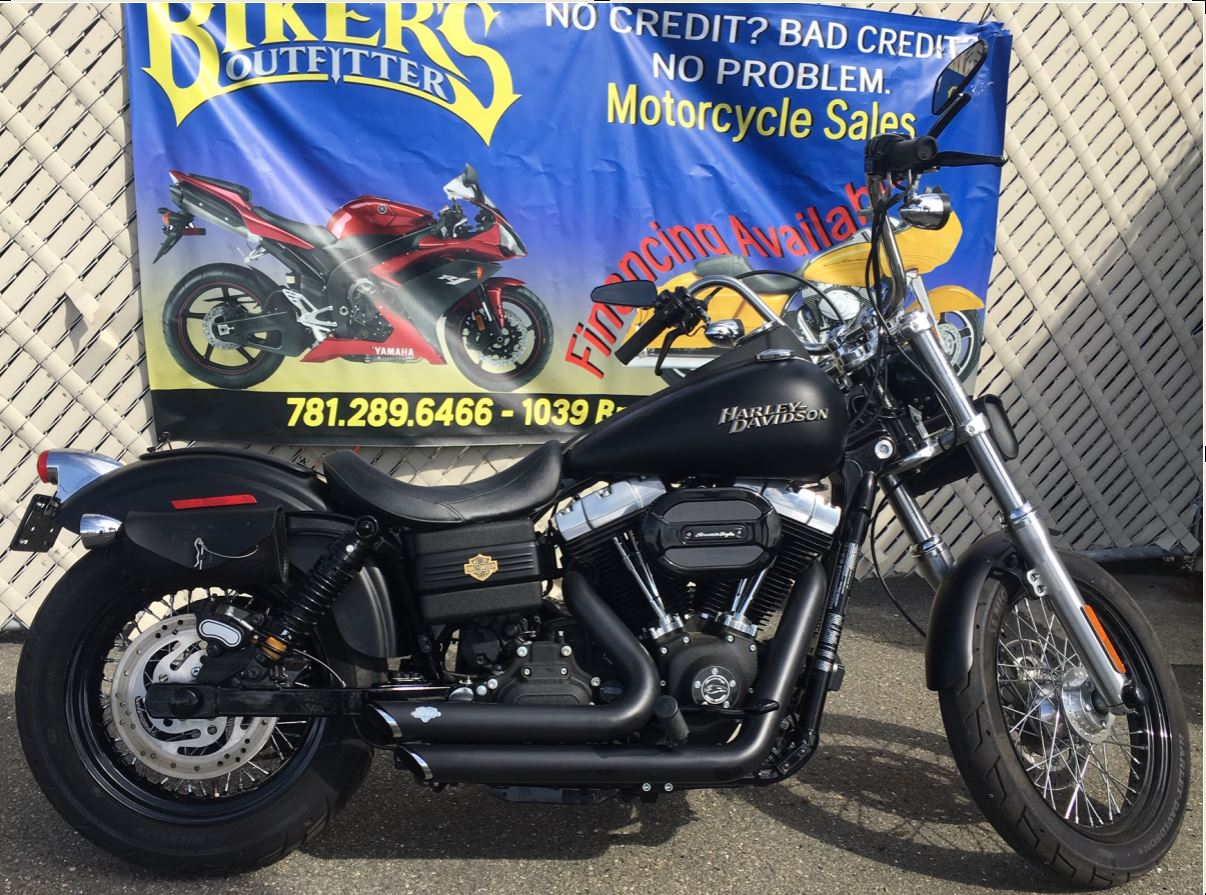 2012 Harley Davidson Street Bob FXDB at Biker's Outfitter Revere Ma.