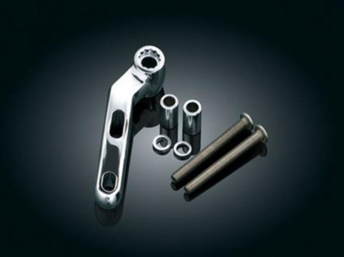 """Part 1472 - (Mounting Kits-Does Not Include Device Holder) Clutch or Brake Perch Accessory Mount Kit (ea) Fits: Universal for bolts with vertical spacing center to center at 1-1/8"""" to 1-11/16"""" apart to accept included M6x1 or 14""""-20 bolts"""