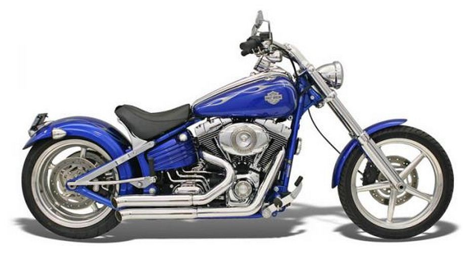 TurnOut for 08-11 Softail, Chrome