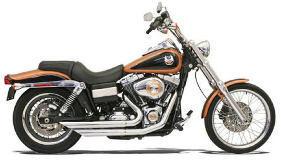 FireSweep for 06-13 Dyna, Chrome