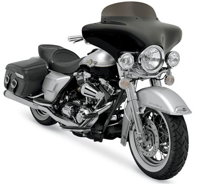 Batwing on a HD Road King