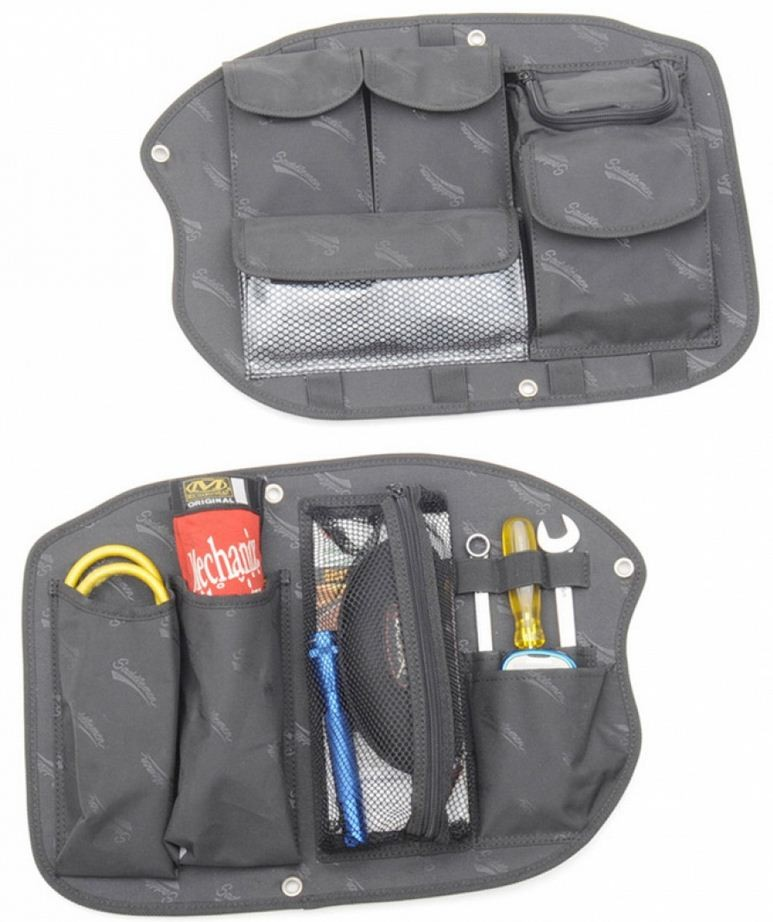 SADDLEBAG ORGANIZER SET FOR HONDA GL1800, 2001-10 GL1800 GOLDWING