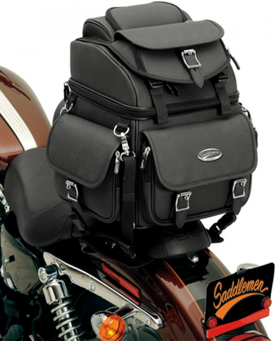 Saddlemen SaddleStow™ BR1800EX Dresser Back Seat or Sissy Bar Bag
