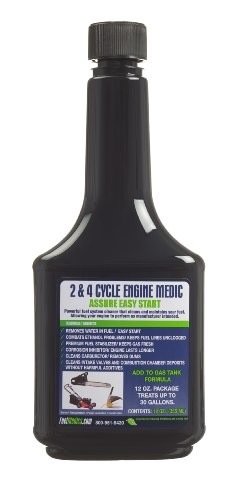 Fuel Medics 37361 2 Cycle And 4 Cycle Engine Medic For Gasoline Engines, 12-Ounce