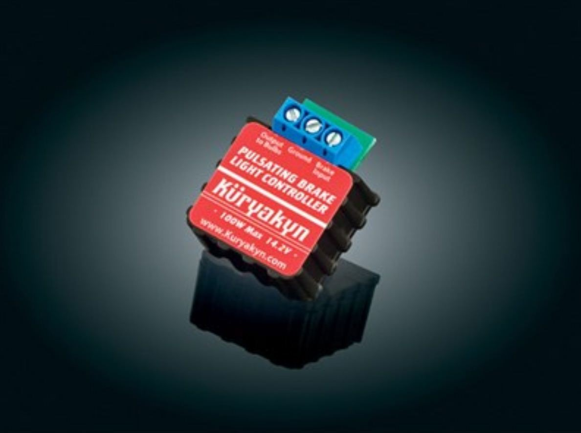 Pulsating Brake Light Controller (ea) Fits: Universal for 12v applications, not compatible with Kuryakyn Panacea or Run-Turn-Brake controllers or Trailer wiring harness.