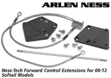 Arlen Ness - Ness-Tech Forward Control Extensions for 2000 - 2012 Softail Models