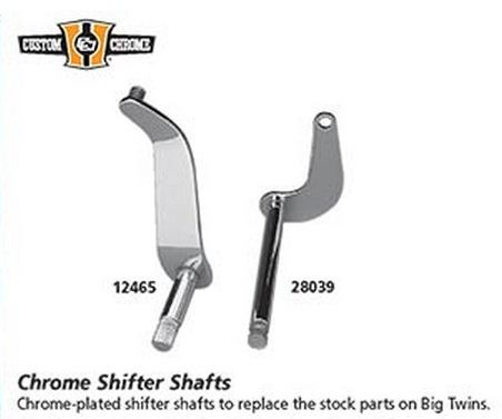 Custom Chrome -   Chrome Shifter Shafts