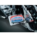 KURYAKYN - SIDE MOUNT LICENSE PLATE CLAMP, SOFTAIL