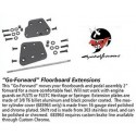 """Cycle Visions - """"Go-Forward"""" Floorboard Extensions"""