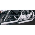 VANCE AND HINES - STRAIGHTSHOTS AND STRAIGHTSHOTS ORIGINAL CHROME EXHAUST KITS FOR 1986, 1987, 1988 HARLEY DAVIDSON 883 SPORTSTERS AND LATER