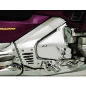 GL1800 Goldwing 2001-201 Chrome Frame Covers With Rubber Inserts