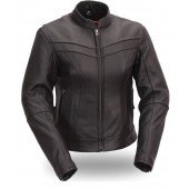 First Manufacturing Co. Ladies Stylish Scooter Jacket