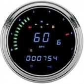 "DAKOTA DIGITAL Harley 2000 Series ""Fatbob"" Digital Information System Tachometer"