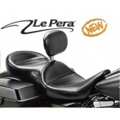 FLH Continental Touring seats with back rest