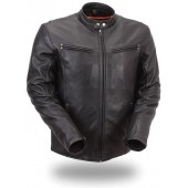 Men's Sleek Vented Scooter Jacket FIM257NOCZ