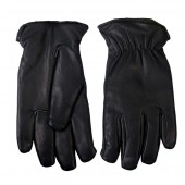 Hot Leathers Deerskin Gloves w/Waterproof Lining